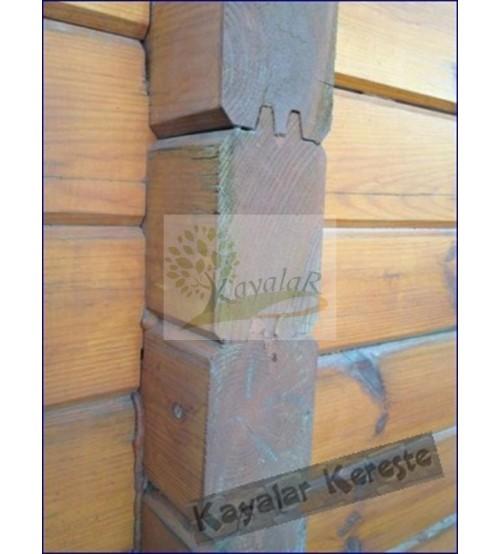 KT-110 Ahşap Kütük - Bungalov Ev Profil